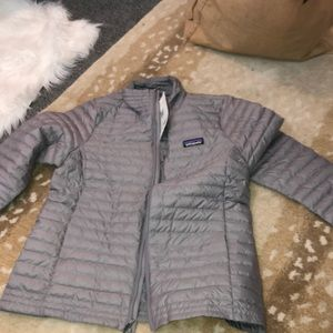 W's Patagonia Down Shirt Feather Grey